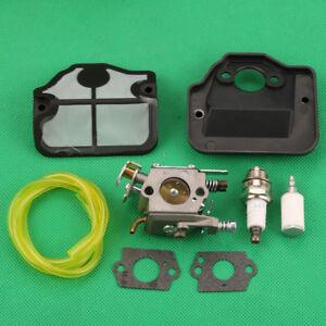 Carburetor Spark Plug Air Filter Kit For Poulan PP4620AV ...
