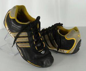 Mens Adidas Team Adi Racer Goodyear Racing Driving Shoes Black ...
