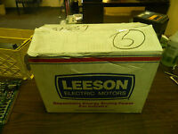 NEW Leeson 2 HP, Electric Motor, C6T34NK17B, 3450 RPM, 460V, NIB, WARRANTY