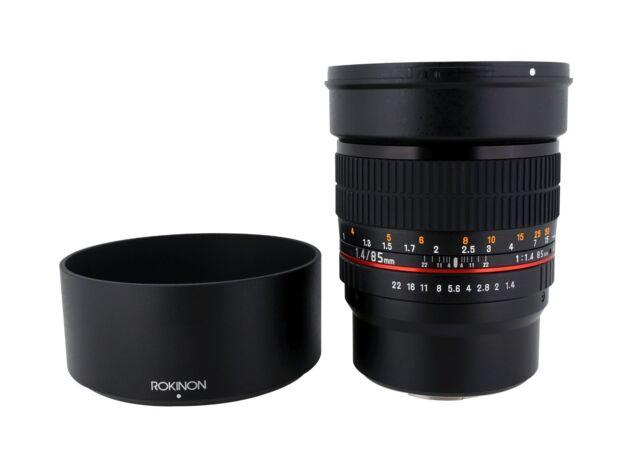 Rokinon 85mm F1.4 Aspherical Portrait Lens - Newest Version!