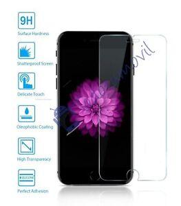Protector de cristal templado completo 3D para Apple iPhone 6 4.7 elija color normal / transparente (no cubre 100 )