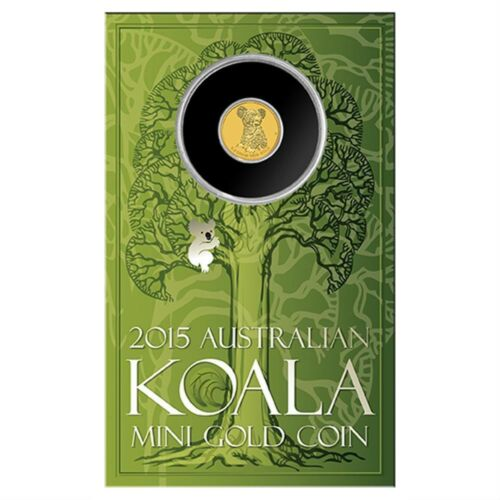 Sold Out At Mint Mini Koala 2015 0.5g Gold Coin