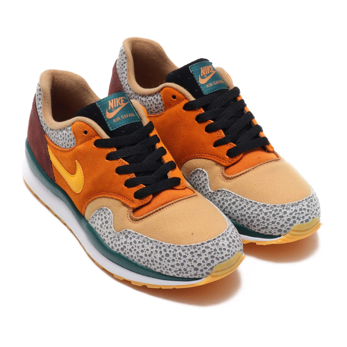 NIKE AIR SAFARI SE MONARCH/Jaune OCHRE-FLAX-MAHOGANY MINK US9