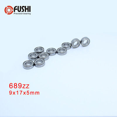 5x11x5 mm Metal Double Shielded Precision Ball Bearings 5*11*5 685ZZ 20 PCS