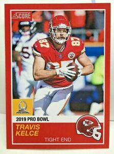 huge discount 5ea87 2763c Travis Kelce 2018 Panini Instant #9 NFL 2019 Pro Bowl '89 ...