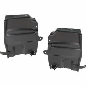New Set of 2 LH & RH Engine Under Cover Splash Shields For Nissan Maxima 09-14