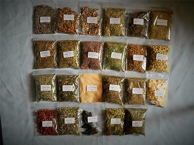 More Herbs for Witchcraft CHOOSE FROM 23 different herbs in 20gram packs