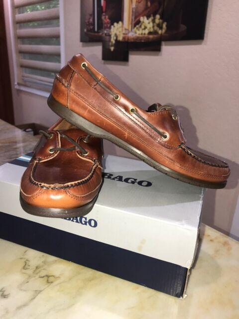 Deck Boat Shoe B75943 Brown Oiled Waxy