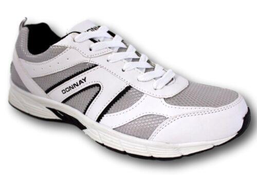 DONNAY Laufschuhe Schuhe Runnnig 40 41 42 43 44 45 46 47 weiß Runningschuhe NEU