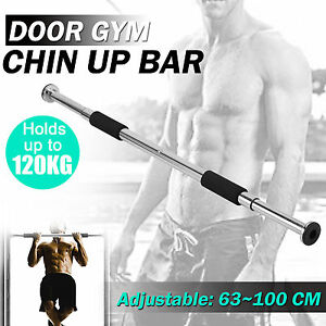 Door Chin Up Bar Portable Pull Up Doorway Home Gym Workout Fitness Abs Exercise 611165984748