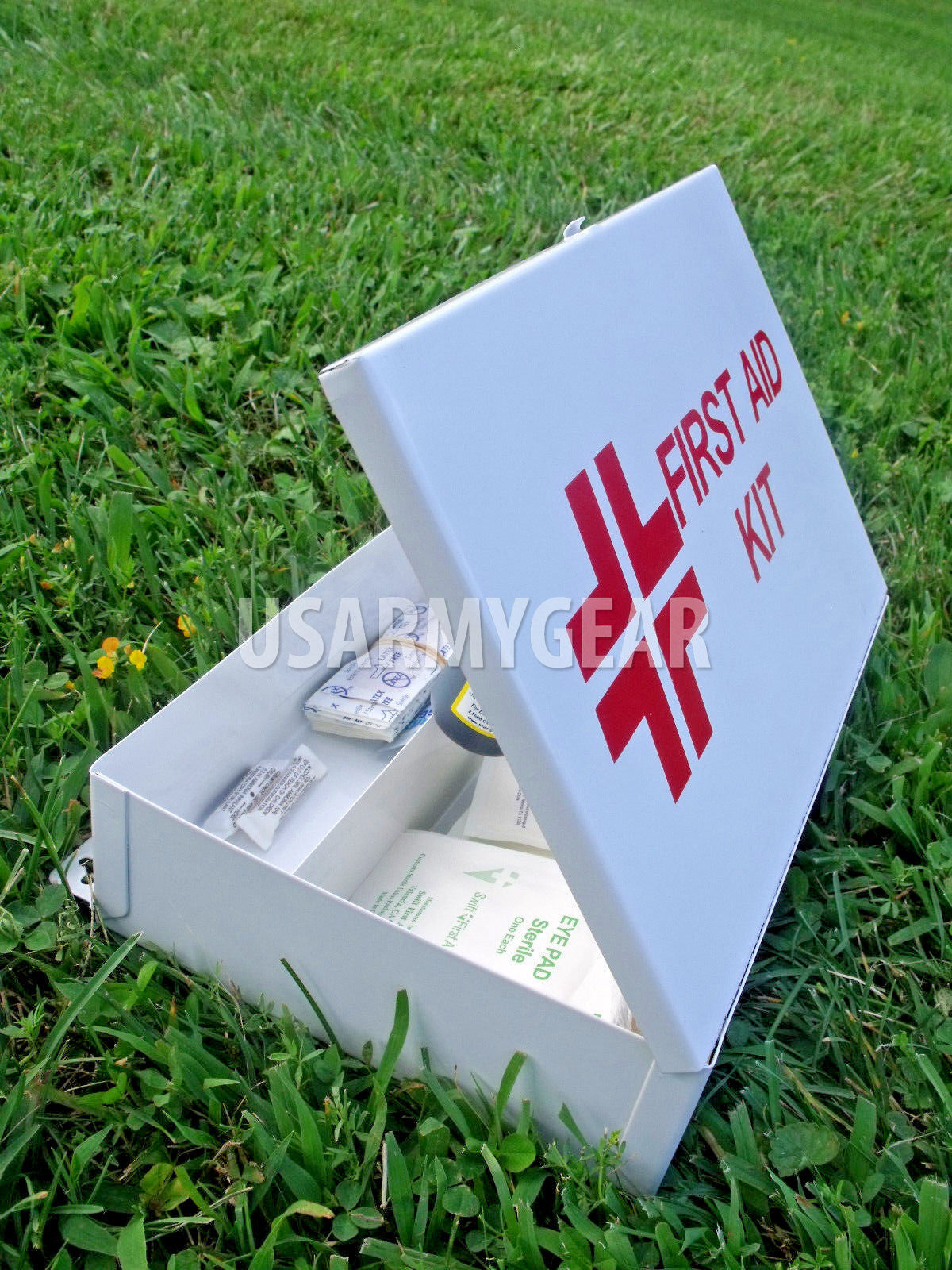 New First Aid Minor Injuries Survival Medical  Suture Surgical Emergency Kit USGI  cheap