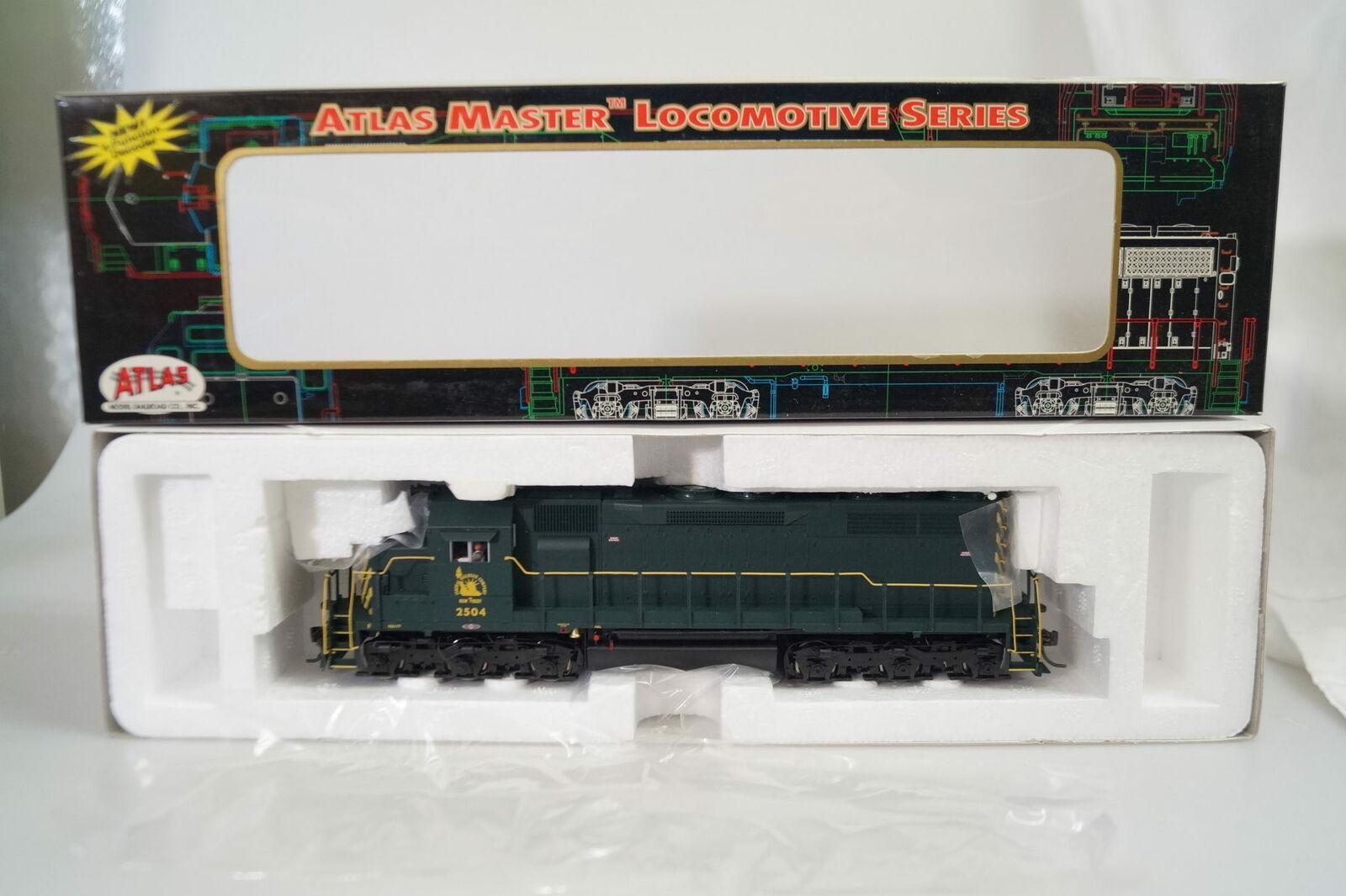 H0  9223 Atlas Master US-Diesellok SD-35 Jersey Central  2504, neuw. ovp DCC