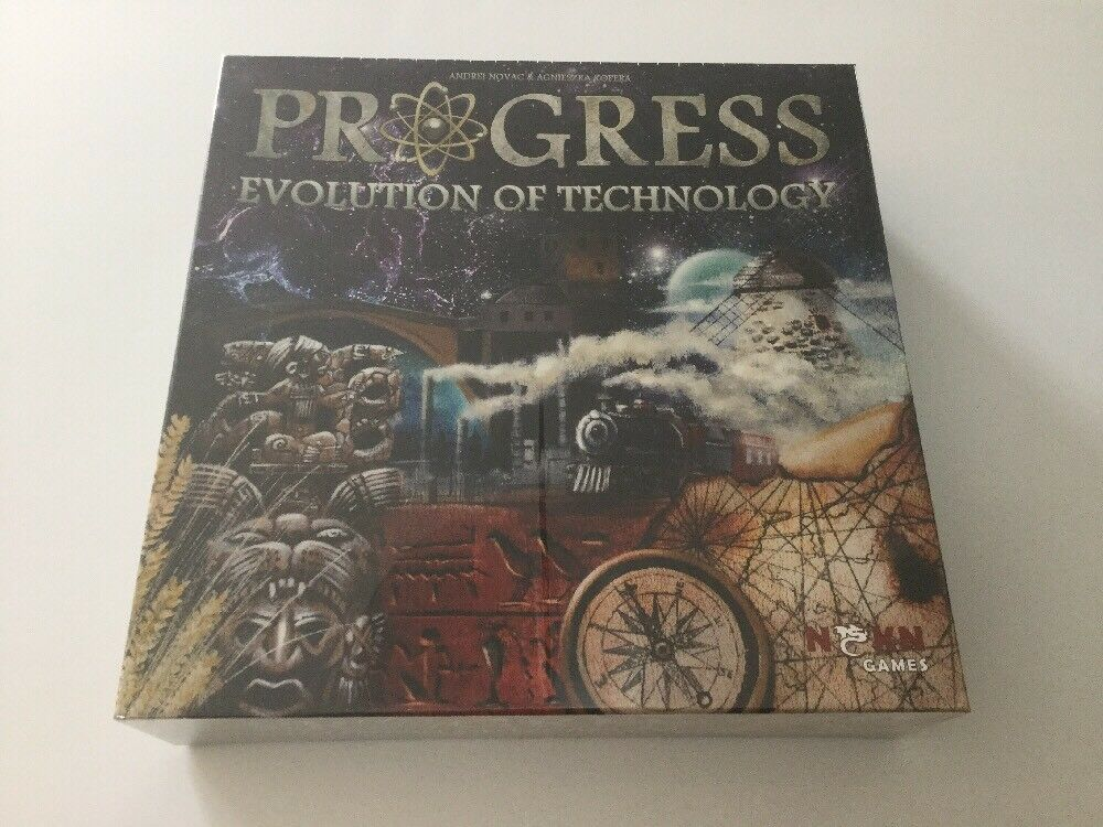 Progress Evolution of Technology - NSKN Games Board Game New