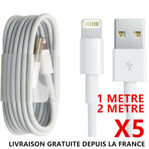 CABLE-CHARGEUR-USB-1-et-2-METRES-IPHONE-6-6S-7-8-Plus-XR-X-XS-Max-11-Pro-5S-SYNC