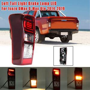Left-LED-Rear-Tail-Brake-Light-Assembly-Lamp-For-Isuzu-DMax-D-Max-Ute-2014-2019