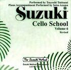 Suzuki Cello School, Volume 6 by Suzuki Method International (CD-Audio, 1994)