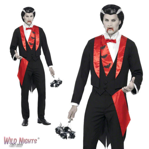 HALLOWEEN FANCY DRESS COSTUME # MENS VAMPIRE LEADING MAN COSTUME