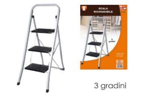 Scaletta scaletta gradini in legno massello multifunzione sedia