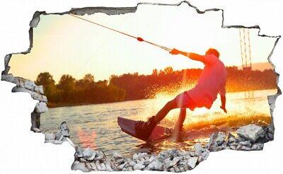 "10102 Wandtattoo-Loft® Wandtattoo Aufkleber Surfer Kitesurfer /""my life/"""