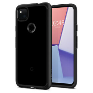 Google Pixel 4a (2020) Case Spigen® [Ultra Hybrid] Black Slim Protective Cover