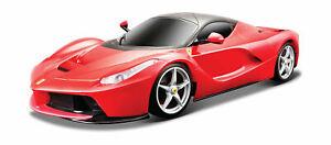 Maisto-Tech-Ferngesteuertes-Auto-034-Ferrari-LaFerrari-034-rot-R-C-Sportwagen