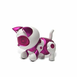 Tekno Newborns Electronic Robotic Pet - Interactive Kitty Cat - Pink Color