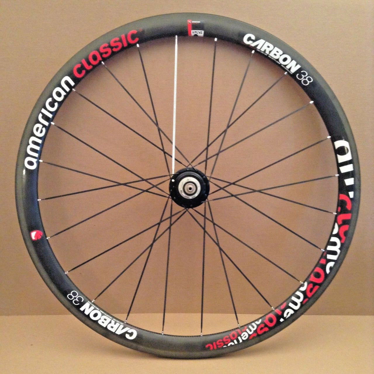 American Classic Carbon 38 Tubular Rear Wheel Campagnolo 9 10 11 Speed Freehub