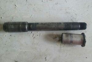 97 suzuki gsxr 600 front axle bolt