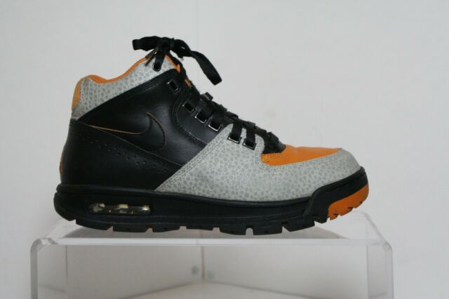save off 603a2 2a1bf Nike Air Max Worknesh VTG 2009 High Men 8 Multi Orange Cement Black  Athletic ACG