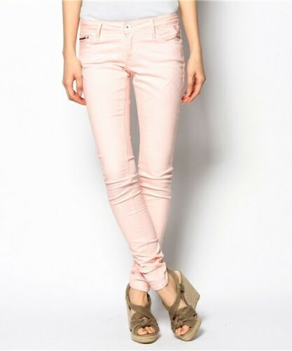 jeans £ Natalie di in W25 L32 denim pesca Nuovi skinny Hilfiger 149 tropicale Rrp taglia OYwqO1d