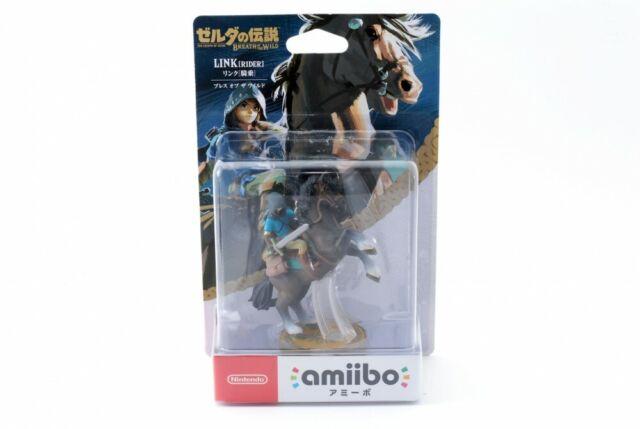 NEW 3DS Wii U Amiibo Link Rider The Legend Of Zelda Breath Of The Wild Japan