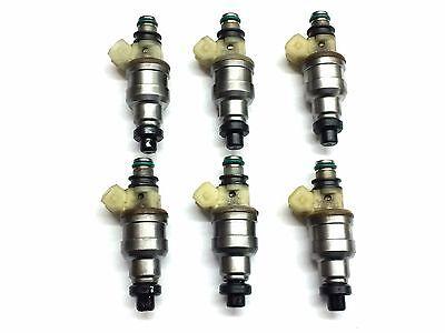 6x Fuel Injector INP 057 for 91-94 DODGE TRUCK MITSUBISHI 3.0L V6  flow matched