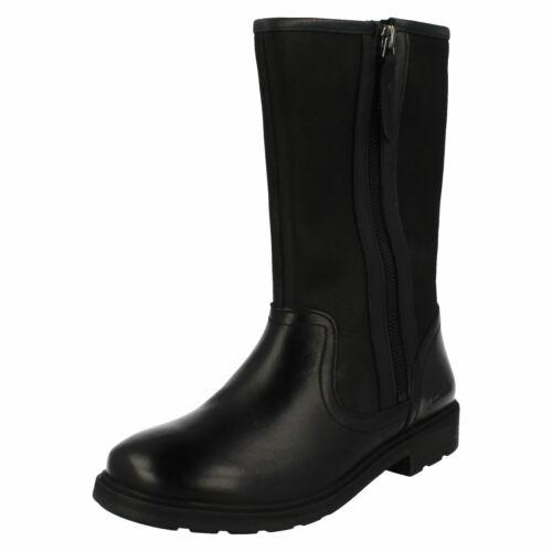 Girls Clarks Mid-Calf Boots Ines Rain