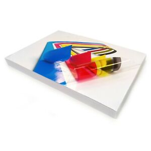 A4-Transparent-VINYL-INKJET-Print-Glossy-Strong-Self-Adhesive-Label-Stickers