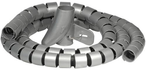 5x Câble tuyau 2m argent câble canal einführhilfe spiralschlauch ø25 MM