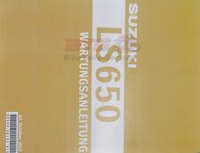 Werkstatthandbuch S.M. LS650 Suzuki 995003618201G S.M. LS650