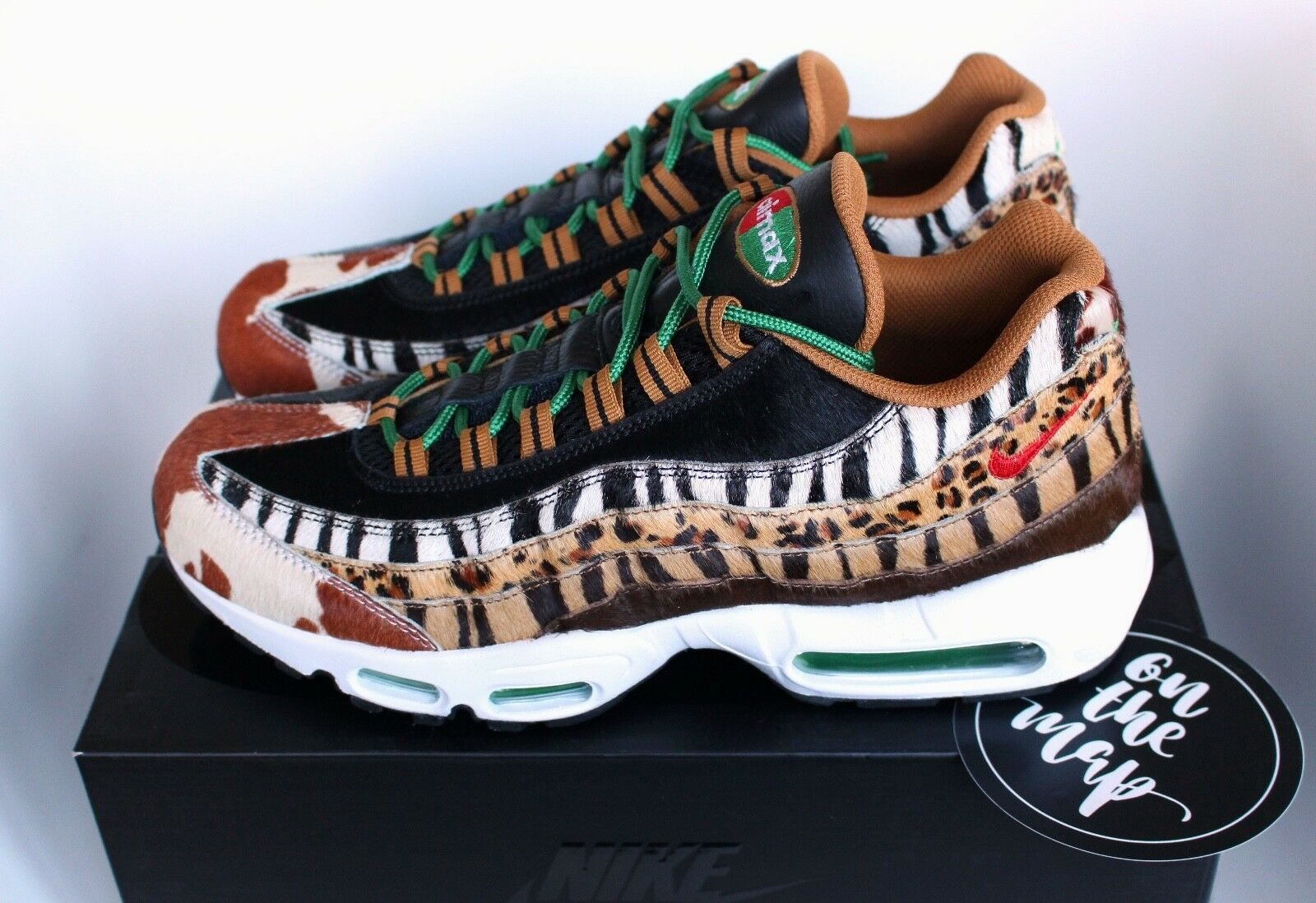 5472ee3ebf Nike Air Max 95 Atmos DLX Beast Safari Animal Pack AM95 2018 US ...