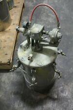 Binks Spray Painting 110psi Pressure Pot With Agitator