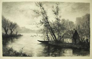 Yvonne-von-Nugent-Zeichnung-Original-Baugleich-Auguste-Liegend-1910-einer-Boot