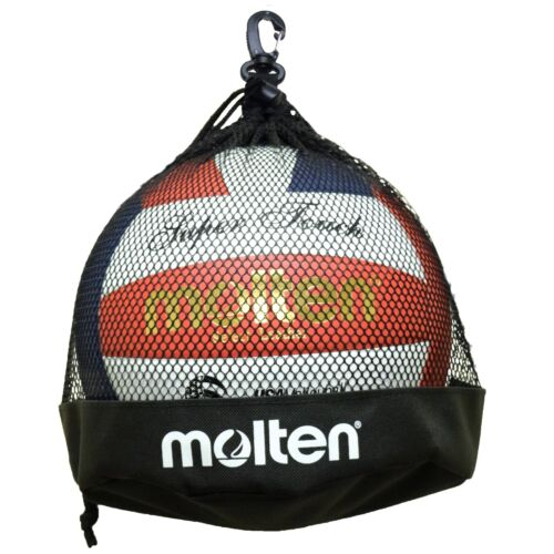 Molten Single Volleyball// Soccer Ball Bag Black *New* 1BB
