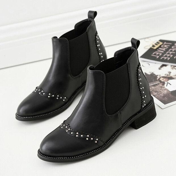 botas bajo zapatos botas militares 4 cm negro elegantes como piel 9600