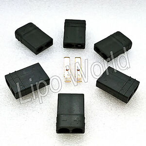 TRAXXAS-TRX-BUCHSE-FEMALE-Goldkontakte-Modellbau-Adapter-Kabel-Lipo-Akku