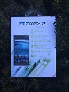Details about ZTE ZMAX 2 Z2G111 - 16GB - Titanium (Unlocked) Smartphone  (Z955A)