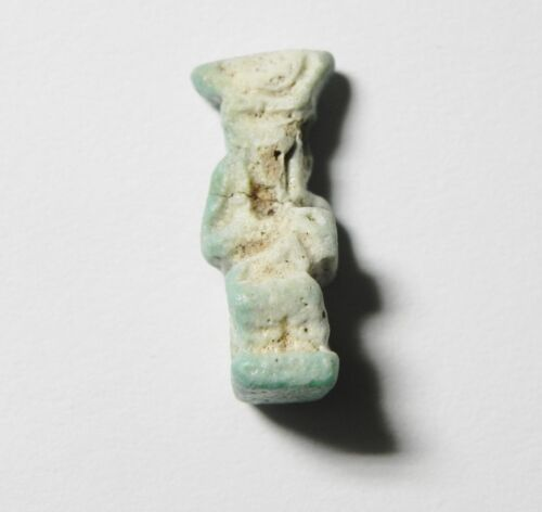 ZURQIEH - ANCIENT EGYPT - BEAUTIFUL ISIS AMULET , 1075 - 600 B.C