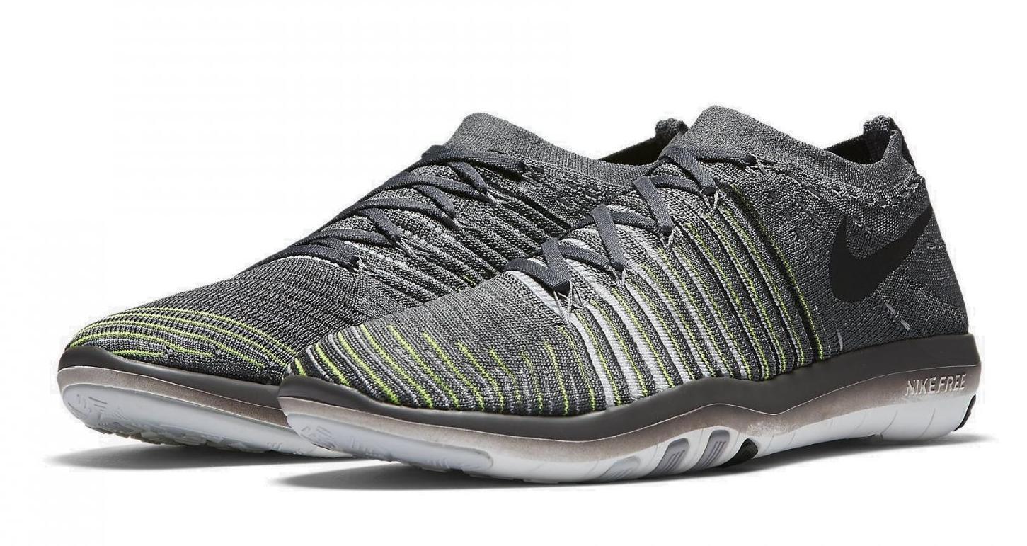 Nike Free Transform Flyknit femmes Training Shoe 833410-004, Dark Gris / Noir 12
