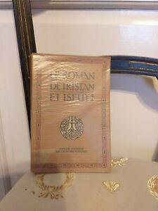 Le Roman de Tristan et Iseut - L'Edition d'Art - 1934 - TBE