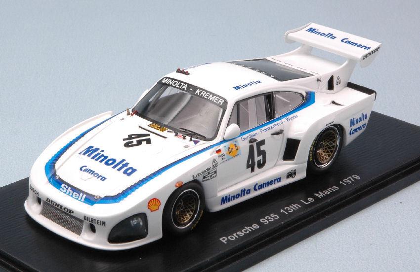 Porsche 935 #45 13th Lm 1979 A. Plankenhorn / P. Gurdjian / J. Winter 1:43 Model | Commandes Sont Les Bienvenues  | à Bas Prix  | Des Matériaux Supérieurs  | Aspect Attrayant
