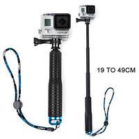 Extendable Pole Hand Grip Monopod Selfie Stick For GoPro Hero 4 3+ 3 2 1 Camera