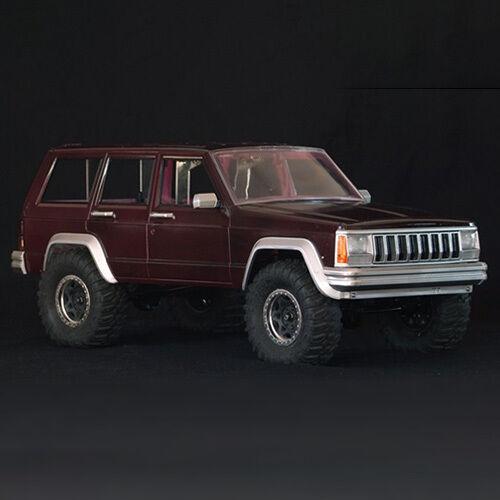 Xtra Speed Cherokee XJ Hard Plastic Body 313mm Axial SCX10 RC4WD TF2  XS-59662