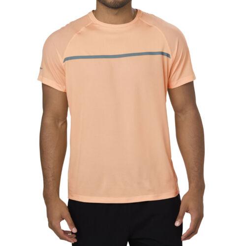 ASICS S//S Top Men Laufshirt Abricot154582-0398 motiondry-Technologie